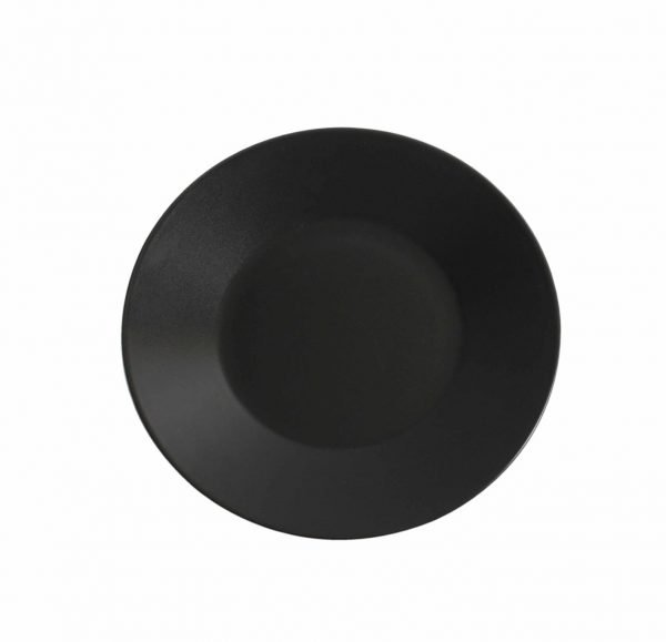 Plato Llano Negro Stonware