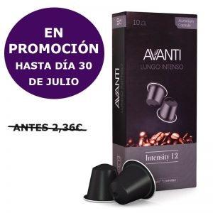 Caja 10 capsulas Avanti compatibles nespresso