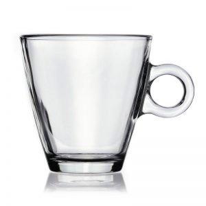 Set 12 Tazas desayuno cristal